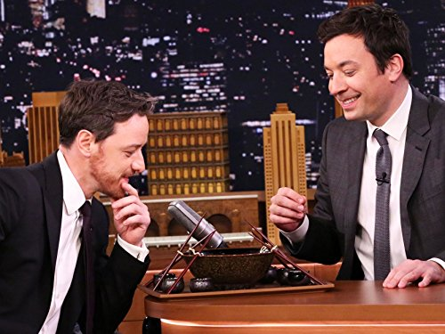 [Highlights - Ramen Challenge with James McAvoy] (Ramen Noodle Costumes)