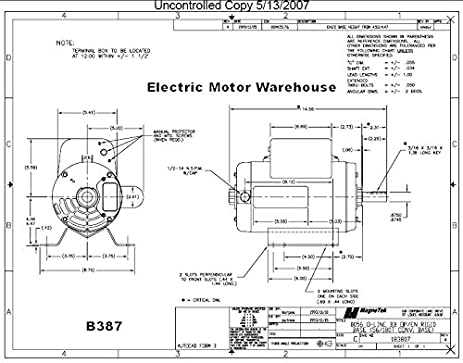 51TiPn24CfL._SX463_ doerr lr22132 wiring diagram 240v motor wiring diagram, 220 air doerr electric motors wiring diagram at webbmarketing.co
