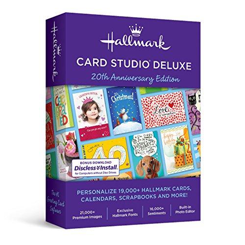Software : Nova Development US Hallmark Card Studio Deluxe 2019