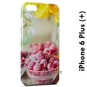 Carcasa Funda iPhone 6 Plus (iPhone 6+) Raspberry Yumi Protectora Case Cover