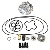 turbo upgrade kit - Powerstroke 7.3L GTP38 TP38 Turbo Billet Compressor Wheel 60/80 + Upgrade Rebuild Kit