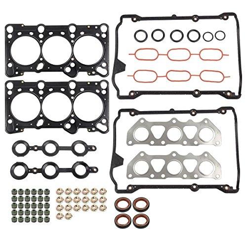 PartsSquare Cylinder Head Gasket Set for Volkswagen Passat Audi A4 A6 Quattro 2.8L (Volkswagen Cylinder Head Gasket)