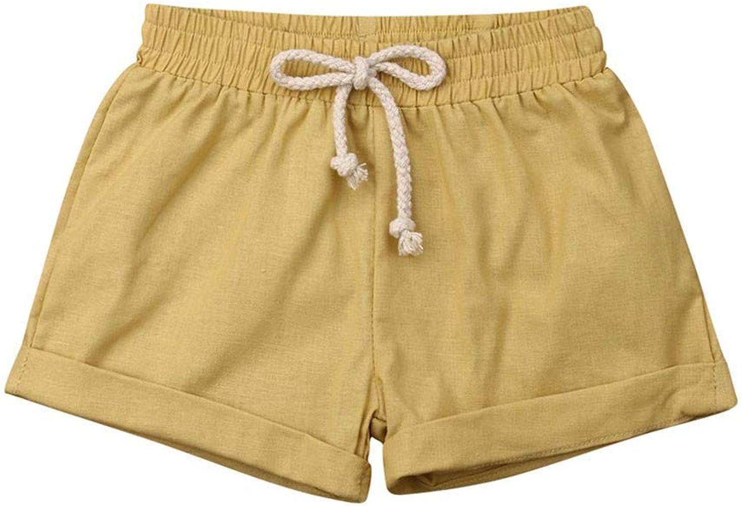 Amlaiworld Pantalones Cortos de Verano para niños, Niños niñas ...