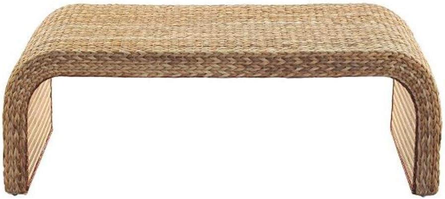 Muebles y Accesorios de jardín Mesas Ratán pequeña Mesa de Centro casa de pequeñas Dimensiones Mesa de Centro de Mesa Ordenador Estudio balcón terraza Creativa pequeña Mesa de té: Amazon.es: Hogar