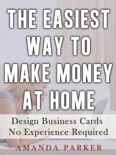 Make Money At Home Design Business Cards