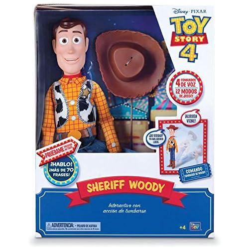 chollos oferta descuentos barato Toy Story Figura Articulada Woody Super Interactivo 40 cm BIZAK 61234431
