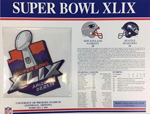 super bowl 2015 patch - 8