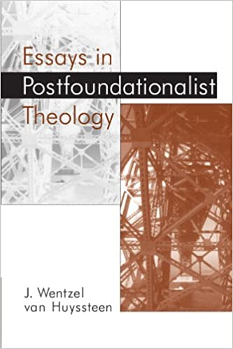 Book Essays in Postfoundationalist Theology