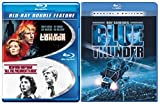 Blue Thunder Blu Ray + 3 Days of the Condor/ All the Presidents Men Blu Ray Robert Redford Bundle 3 set Action Movie
