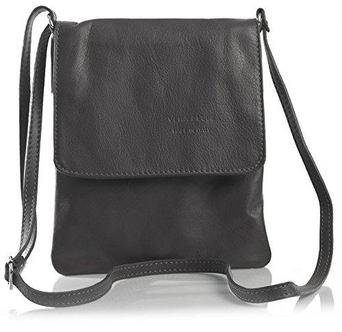 Leather Big Cross Shop Coffee Womens Mini Real Handbag Bag Body Soft 4P64g