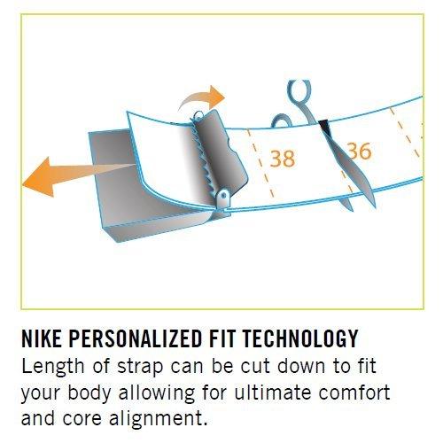 Nike Men's 3 Pack Web Belt, White/Khaki/Black, One Size by NIKE (Image #2)