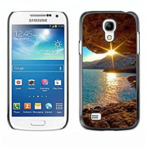 Paccase / SLIM PC / Aliminium Casa Carcasa Funda Case Cover - Sunset Beautiful Nature 30 - Samsung Galaxy S4 Mini i9190 MINI VERSION!
