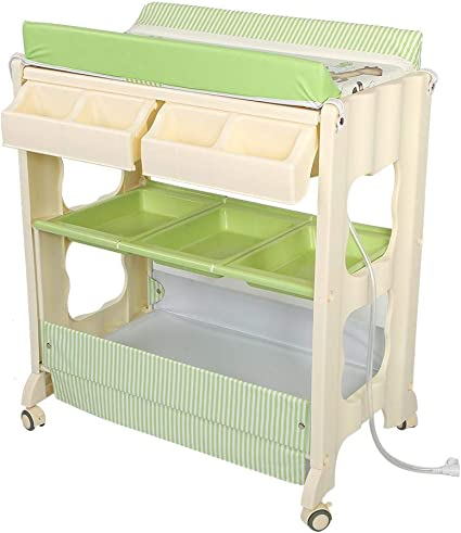Baby Storage Bath Foldable tub Unit -Friends IB-Style Changing Table and Bath 3 Decors