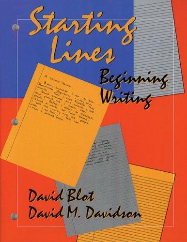 Starting Lines: Beginning Writing (Student Book)