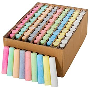 amazon com ready 2 learn jumbo sidewalk chalk set of