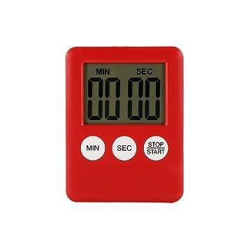 Compra Sunsbell Temporizador de Cocina, Pantalla LCD de Cocina súper Delgada Pantalla de Cocina Digital Temporizador de Contador Contador de Avance Cuenta ...