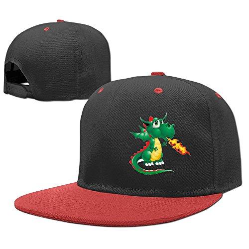 [Boss-Seller Child'sFashion Fire Dragon Pterosaur Image School Hip Hop Red] (Dragon Tales Costume)