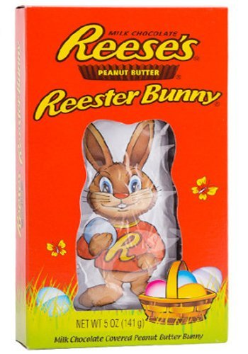Hershey's Reese's Peanut Butter Reester Bunny 141G Easter Gft