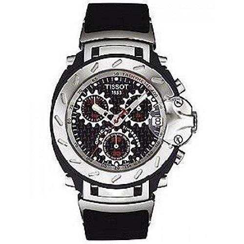 Reloj Tissot Hombre _ t90.4.596.81 _ al cuarzo (batería) acero quandrante negro correa acero: Amazon.es: Relojes