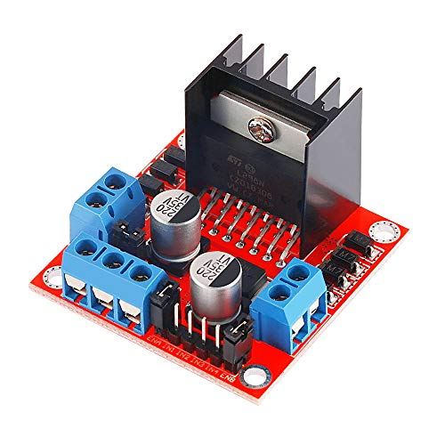 (L298N Stepper Motor Driver Dual H-bridge DC Stepper Motor Driver Controller Board Module for Arduino)