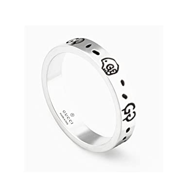 2bc3402b53c GUCCI GHOST ring YBC477339001026 Ring size  X  Amazon.co.uk  Jewellery