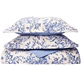 featured product Laura Ashley Bedford Cotton Reversible Quilt Set, Full/Queen