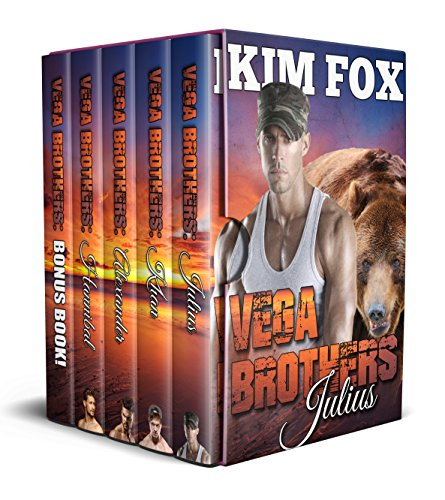 Vega Brothers: Box Set: Books 1-4 and a never seen before bonus story! (The Bear Shifters of Vega Ranch Book 5)