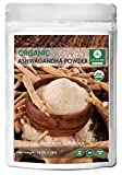 Organic Ashwagandha Root Powder (16 Ounces) – Withania somnifera – USDA Certified Organic | Anxiety Relief | Adrenal Support and Cortisol Manager | Ayurvedic Herbal Supplement… For Sale