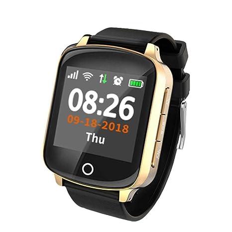 Amazon.com: YHJGKO Smart Watch New Elderly Smart Watch GPS+ ...