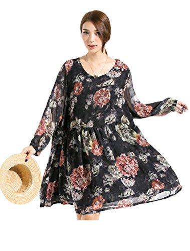 MatchLife - Vestido - para mujer negro