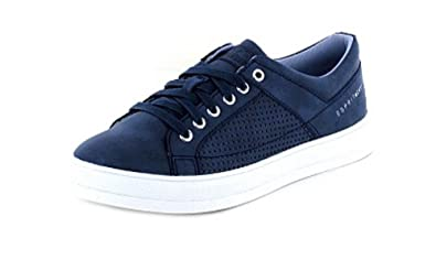 Damen Sneaker Sidney Perf Lace up,Navy 028EK1W014/400 Blau 306738 Esprit