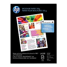 Hp Glossy Color Laser Brochure Paper 150 Sheets Heavey Weight With Two Sided Glo