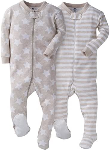 Gerber Boys' 2 Pack Footed Sleeper