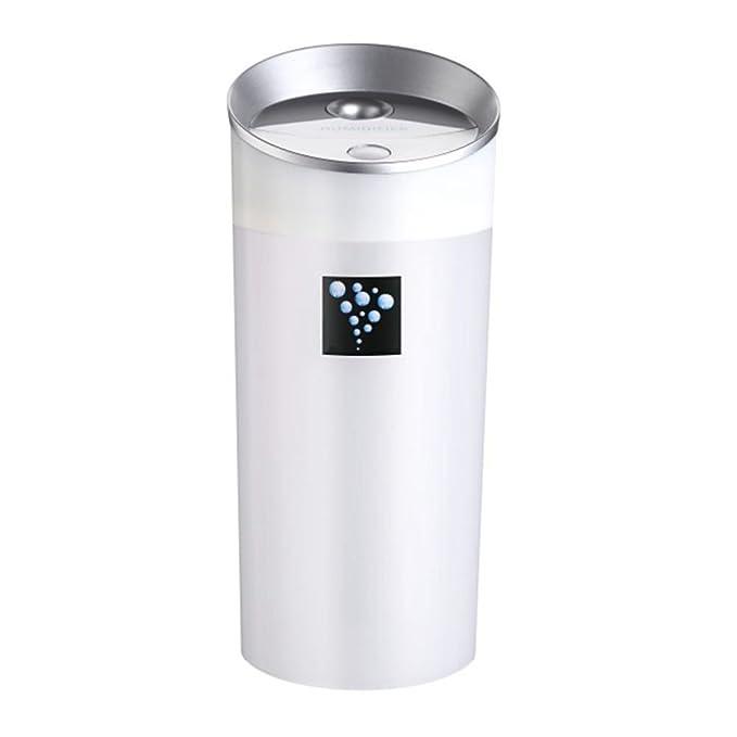 SODIAL 300ML Humidificador ultrasonico Humidificador del coche USB Difusor de aceite esencial Mini Aroma de Aromaterapia fabricante de la niebla para ...