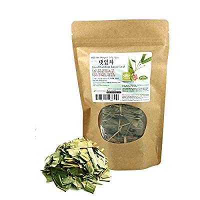 [Medicinal Korean Herb] Bamboo Loose Leaf Tea ( Zhuyecha ), Dried Loose Leaves, 57g (2oz)