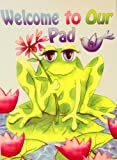 ~~** Welcome guests with an adorable Garden Art Flag by Rain or Shine!  Artwork features a cute little frog on a lily pad.Pretty colors, quality construction and resistance to fading make this flag a perfect addition to your outdoor decor!  -...