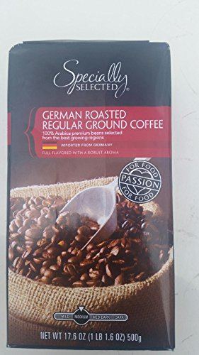 German Roasted Vacuum Pack Regular Ground Coffee Full Flavored With A Robust Aroma Imported From Germany 17.06 (German Ground Coffee)