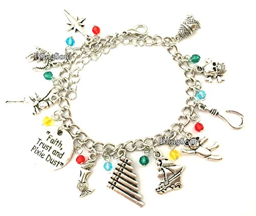 Movie and Game Premium Jewelry Merchandise (Peter Pan Charm (Peter Pan And Friends Costumes)