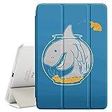 ipad air 2 shark - STPlus Shark Tank Aquarium Funny Smart Cover With Back Case + Auto Sleep/Wake Funtion + Stand for Apple iPad Air 2