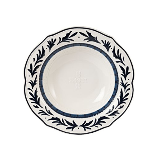 Bristol Collection, Vegetable Bowl, Royal Blue/White ()