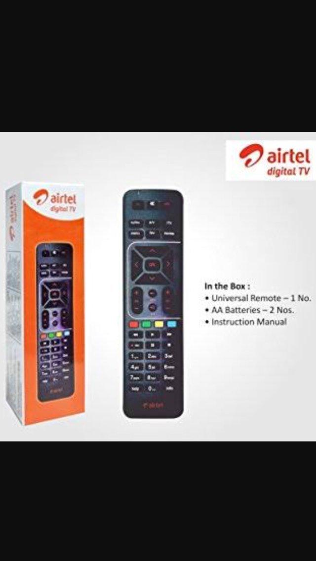 Airtel Digital TV Universal Remote
