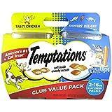Temptations Cat Treats Mix Ups Chicken & Surfers Delight Flavors 16 Oz 2Pk