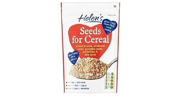 Semillas de Helen de cereal molido Linaza con Gojiberry y Chia ...