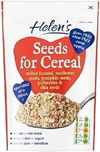 Semillas de Helen de cereal molido Linaza con Gojiberry y Chia 230g Semillas: Amazon.es: Hogar