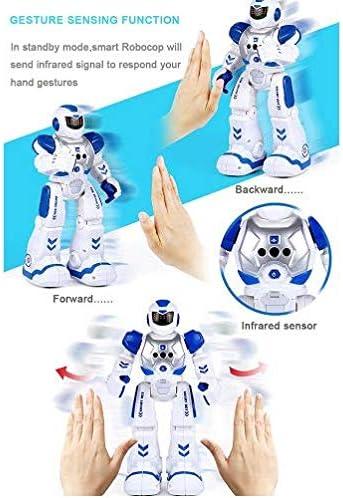 Amazon.es: Sarria Store Robot de Juguete por Control Remoto. Interactivo. Teledirigido. Baila, se Detiene aproximando la Mano. por radiocontrol. Regalo Kit de Robot para niños y niñas