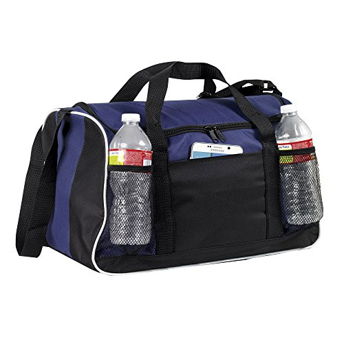 "Duffle Bag, 17"" BuyAgain Small Travel Carry On Sport Duffel Gym Bag."