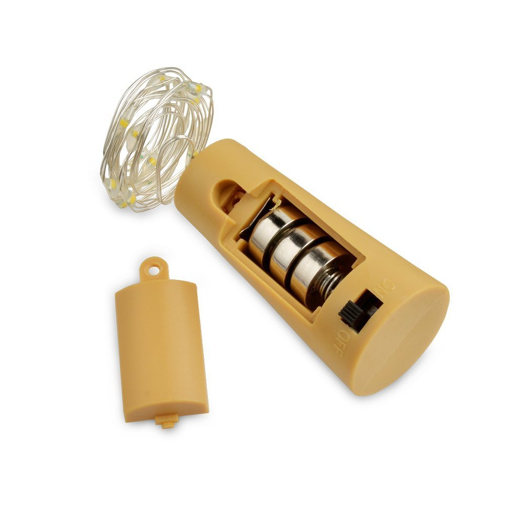 Wine Bottle Lights with Cork, LoveNite 10 Pack Battery Operated LED ...