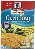 McCormick Golden Dipt Lemon & Pepper Oven Easy Coating Mix, 4.5 oz (Case of 12)
