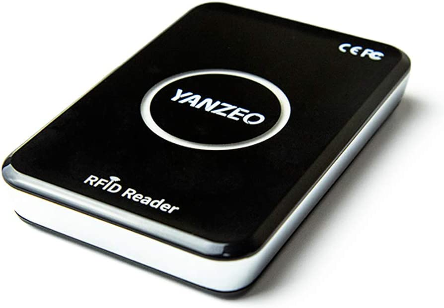 Yanzeo R15 SR2 Metal Shell UHF RFID Reader Writer 860-960mhz Complie Standard of EPC C1G2 ISO 18000-6C Support Keyboard Emulation Output Support Read Write UHF Tags for Alien 9654