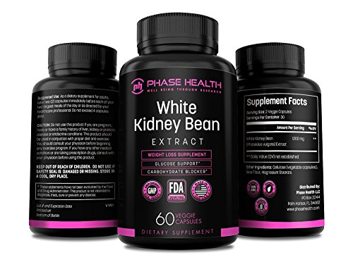 100% Pure White Kidney Bean Extract – Carb Blocker and Fat Absorber for Weight Loss – Phase Health Review